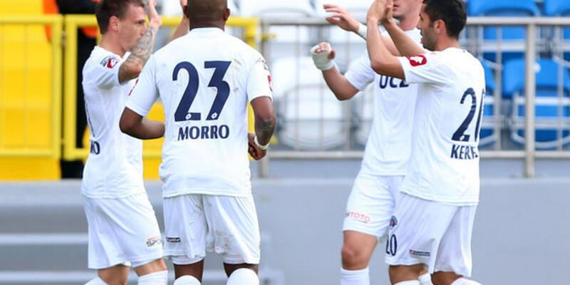 Kasımpaşaspor 3 golle turladı