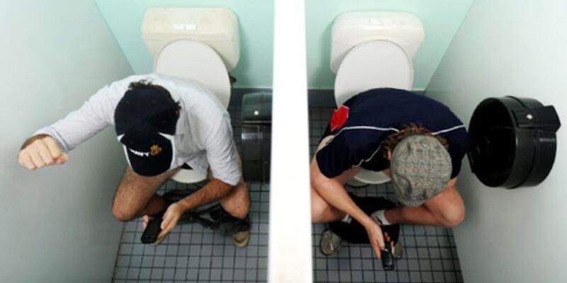 Tuvalette sosyal medya çılgınlığı!