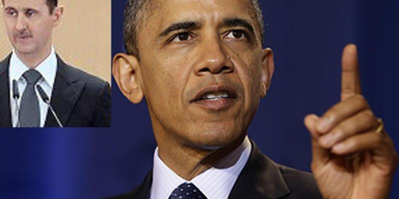 Obama'dan Esad'a uyarı!