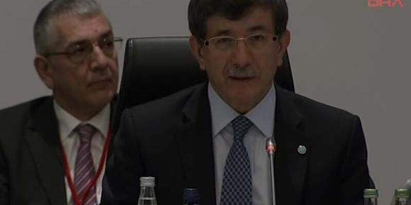"""Davutoğlu: """"Filistin'e sorumluluğumuz henüz bitmedi"""""""