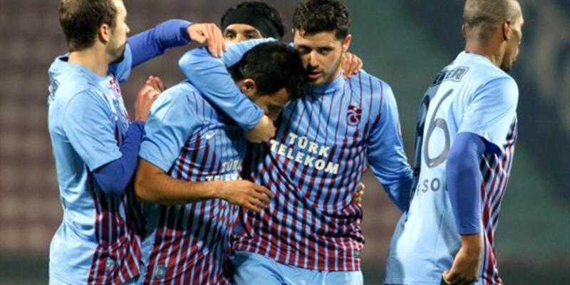 Trabzonspor güle oynaya kazandı