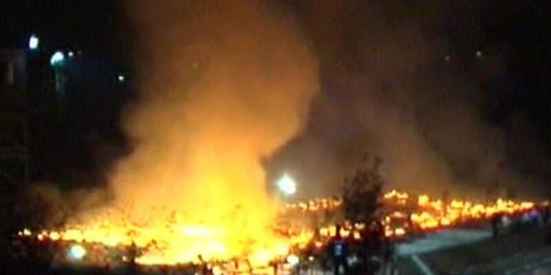 Beycuma M Tipi Kapalı Cezaevi'nde yangın