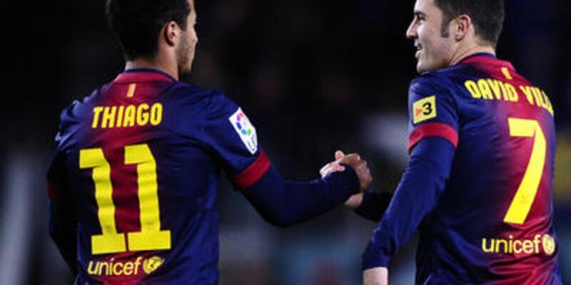 Barcelona yedeklerle de kazandı