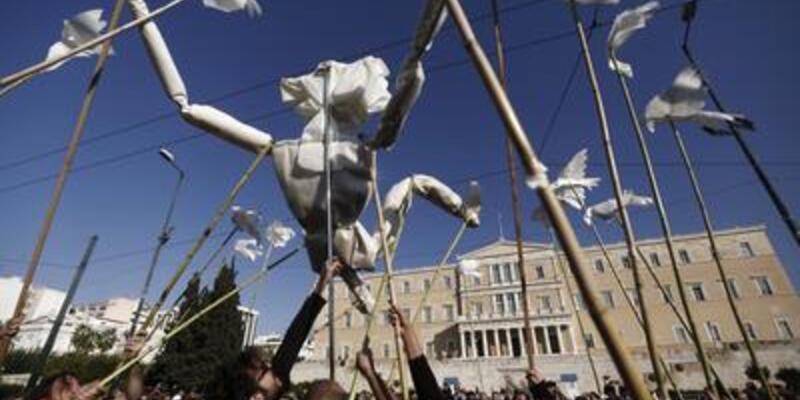 Yunanistan'da yeni grevler