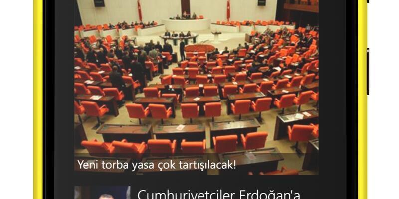 CNN TÜRK'ü içinde Lumia 920