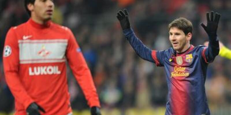 Spartak Moskova - Barcelona : 0-3