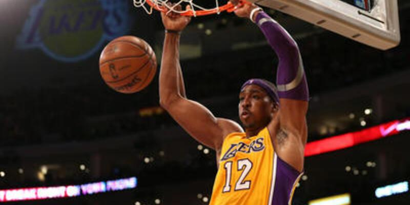 Nets'in freni Lakers