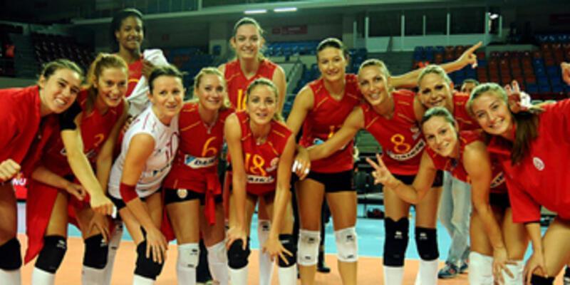 Galatasaray Daikin rövanşı aldı
