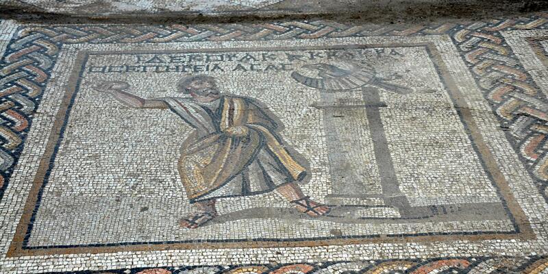 Tarsus'ta Roma dönemine ait mozaik bulundu