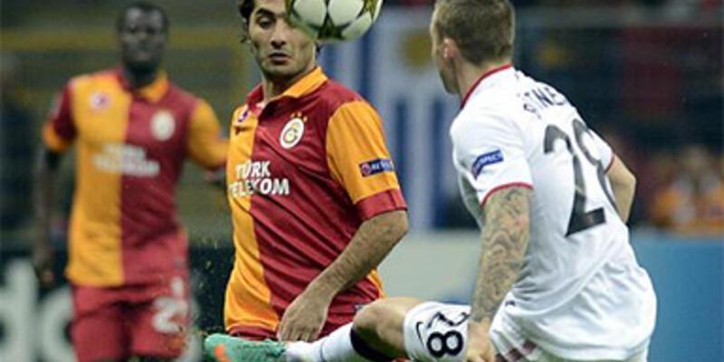 Galatasaray, ManU'yu altın kafayla devirdi
