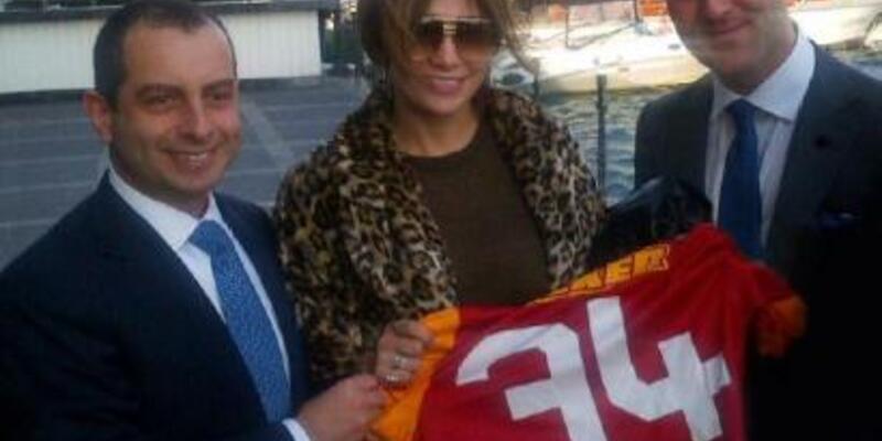 JLo'ya Galatasaray forması