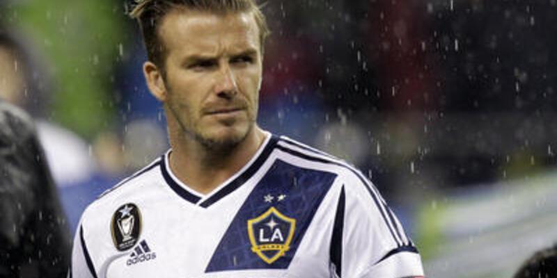 David Beckham LA Galaxy'den ayrılıyor