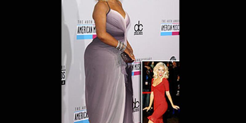 Christina Aguilera'ya ne olmuş böyle?