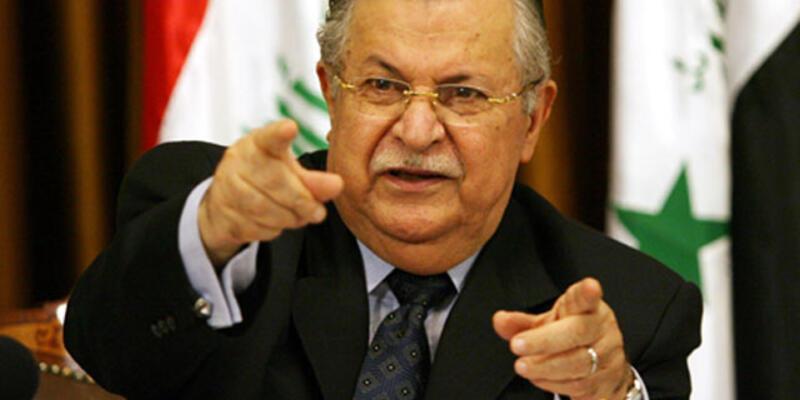 """Talabani'den Ankara'ya """"Suriye"""" eleştirisi"""