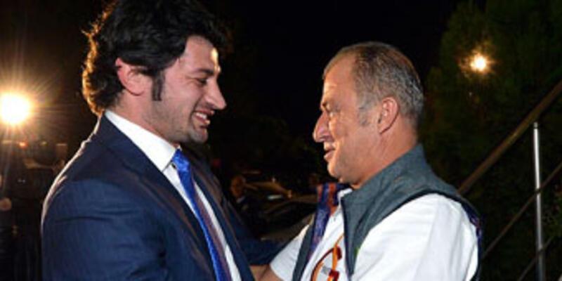 Gürcü Bakan, Fatih Terim'i ziyaret etti