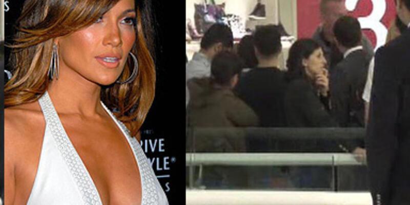 Jennifer Lopez İstanbul'da alışverişte...