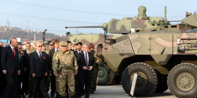 """Yerli tank """"Altay"""" tanıtıldı"""