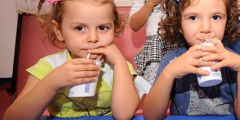 Okul sütü uygulaması yeniden başlıyor