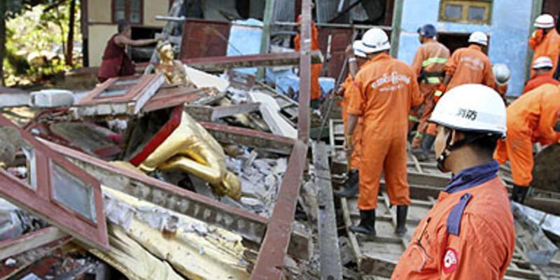 Myanmar'daki depremde ölü sayısı 26 oldu