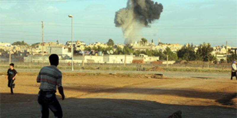 Türkiye sınırında bombardıman