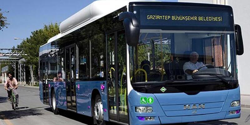 Bu otobüsler çöple çalışacak!
