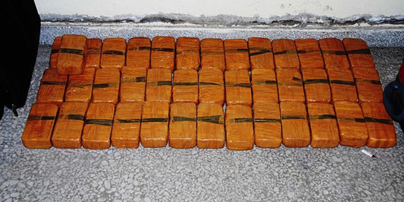 Bolu'daki aramada 165 kilo eroin bulundu