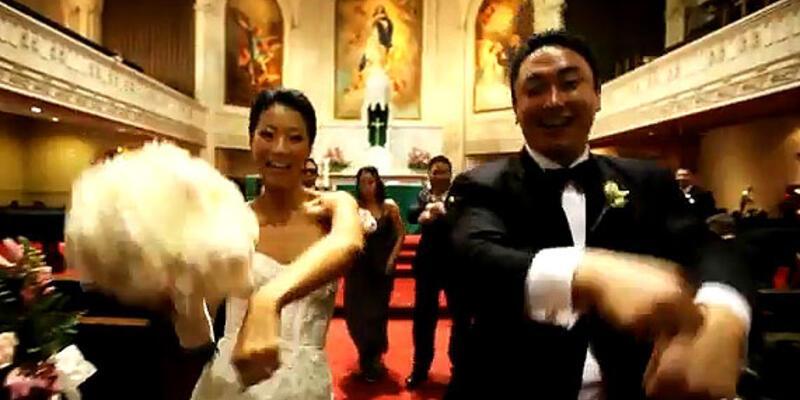 Bir Gangnam Style düğün daha...