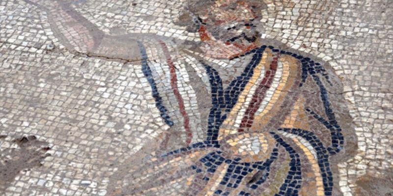 Tarsus'ta erken Roma dönemine ait mozaik bulundu