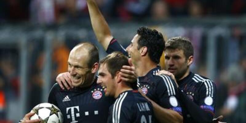 Bayern Münih attı, attı, attı...