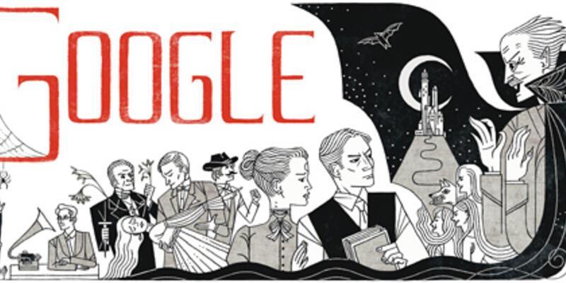 Google Bram Stoker'ın doğum gününü kutluyor