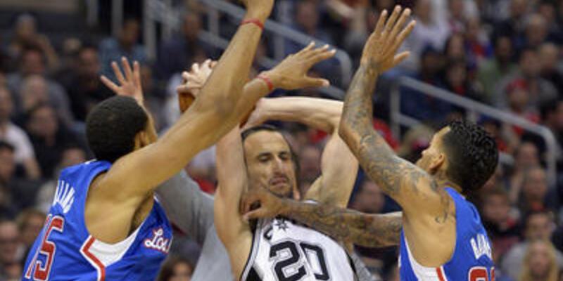 Spurs'u Clippers durdurdu