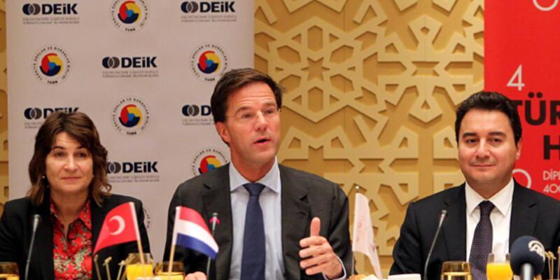 """Hollanda Başbakanı: """"Türkiye'yi kıskanıyorum"""""""