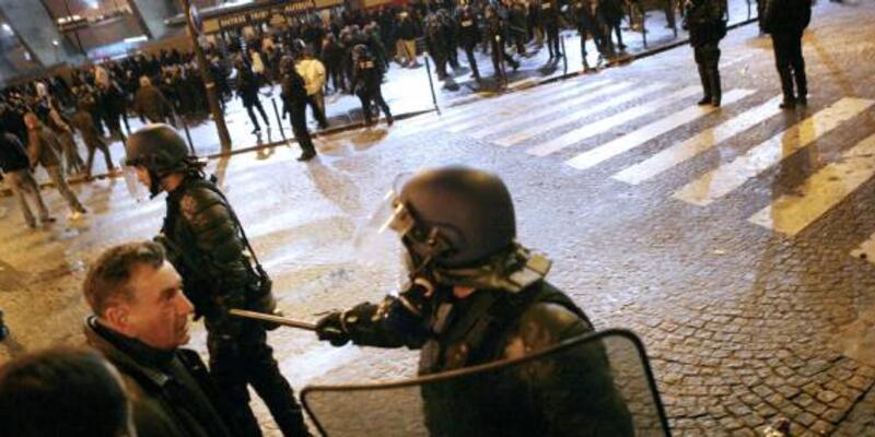 Paris'te meydan muharebesi