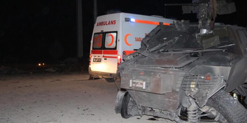 Şemdinli'de bombalı saldırı