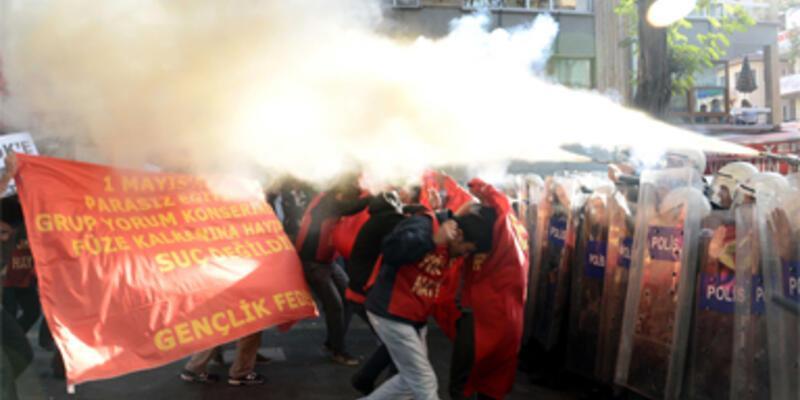 Başkentte protesto gerginliği