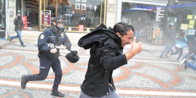 Edirne'de açlık grevi eylemine polis müdahalesi