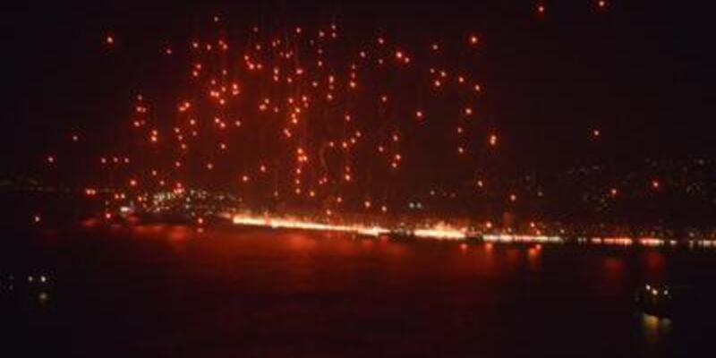 Karşıyaka'dan meşaleli 100. yıl kutlaması