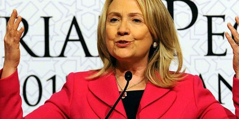 """Clinton'dan """"Suriye"""" mesajı"""