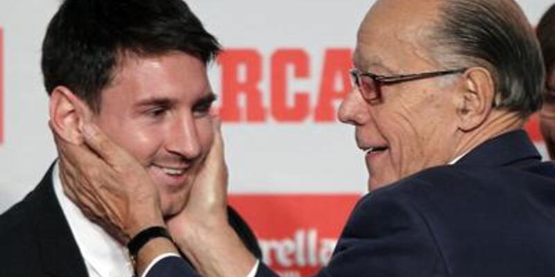 Messi Altın Ayakkabı'sına kavuştu