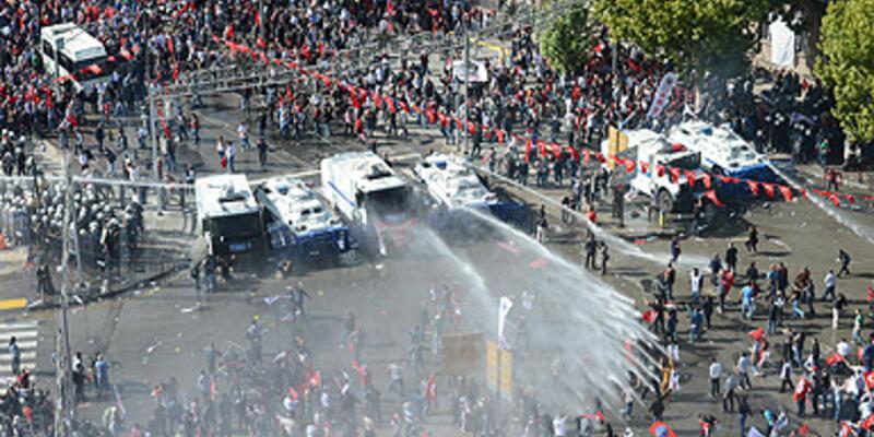 Ankara'da polisten gazlı müdahale!