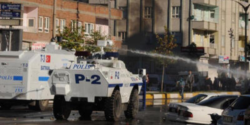 BDP mitinginde olaylar...
