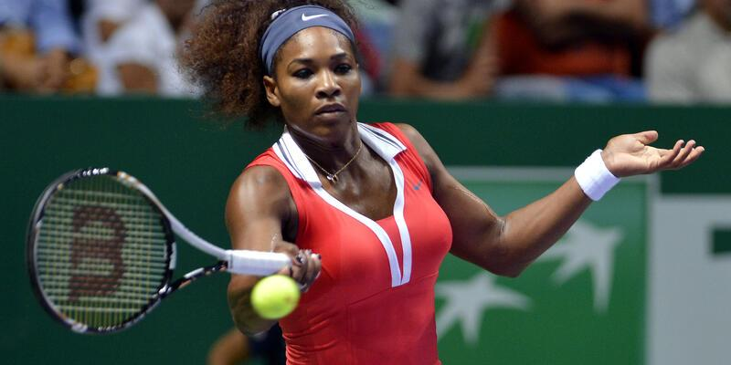 İlk finalist Serena Williams