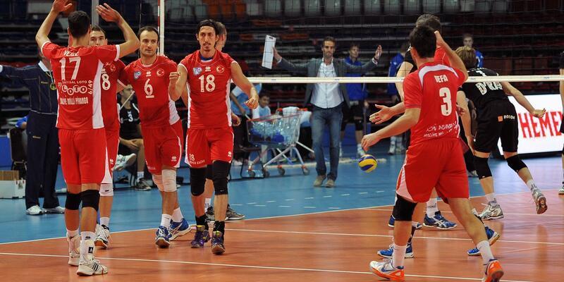 """CEV Kupası'nda 3-0'lık """"Piyango"""""""