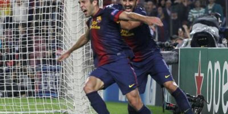 Barcelona son dakikada güldü