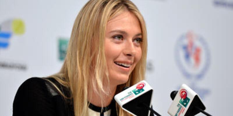 Sharapova turnuvaya hazır