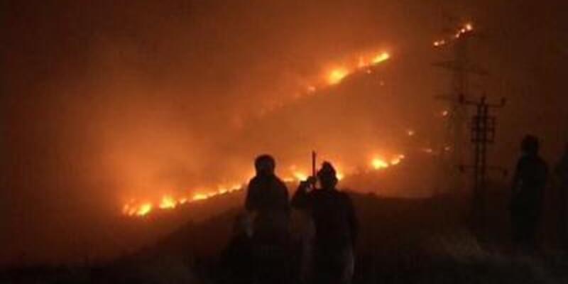 Amanoslar'daki yangın yeniden başladı