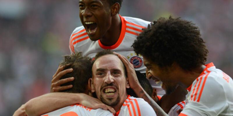 Bayern 8'de 8 yaptı