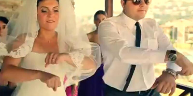 Bodrum'da Gangnam Style düğün!