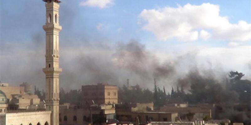 Halep'teki Emevi Camii tahrip oldu