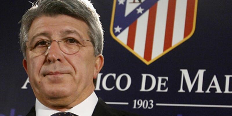 Atletico Madrid Başkanı yeter dedi
